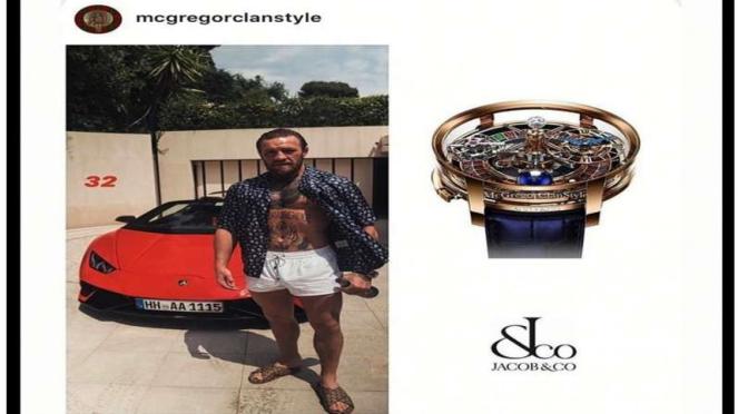 Jam tangan mewah McGregor