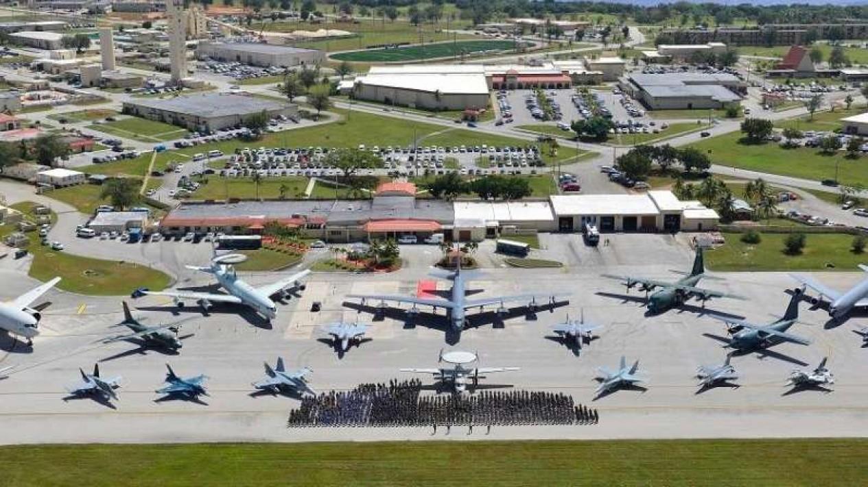 VIVA Militer: Pangkalan Angkatan Udara Amerika Serikat Andersen di Guam