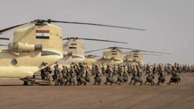 VIVA Militer : Pasukan Angkatan Bersenjata Mesir