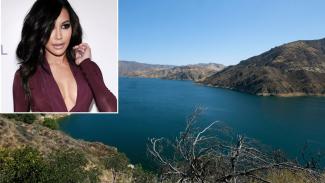 Danau Piru tempat Naya Rivera hilang.