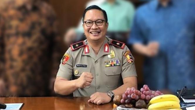 Kepala Biro Koordinasi dan Pengawasan  Bareskrim Brigjen Prasetijo Utomo