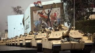 VIVA Militer: Tank militer Mesir.