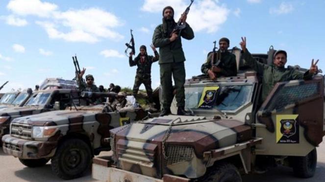 VIVA Militer: Tentara LNA Libya