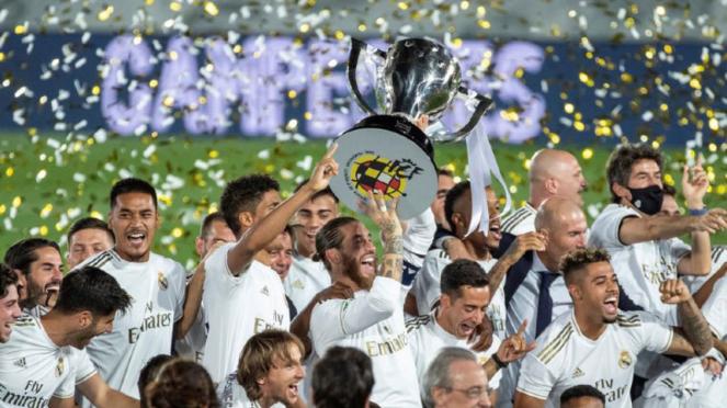 Real Madrid juara LaLiga musim 2019/20