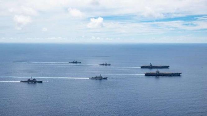 VIVA Militer : Angkatan Laut Amerika Serikat di Laut China Selatan