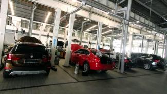 Bengkel BMW Astra Sunter