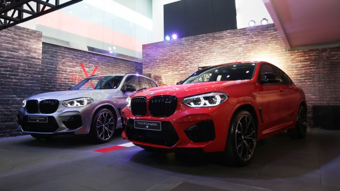 BMW X3 M Competition dan X4 M Competition