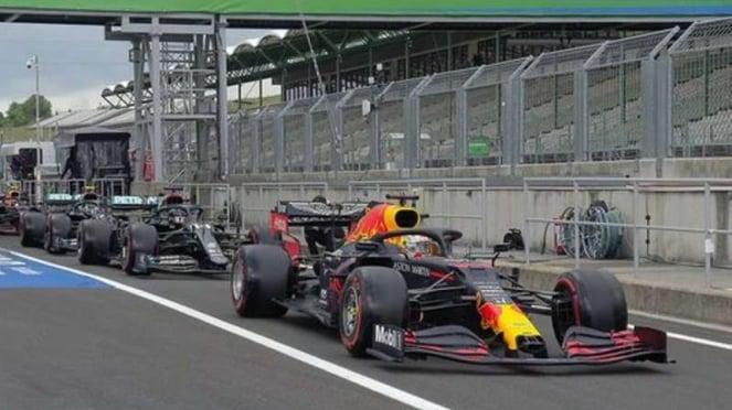 Kualifikasi F1 GP Hungaria.