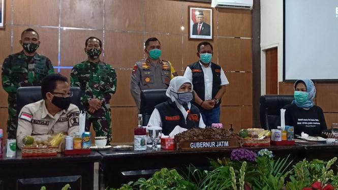 Gubernur Jawa Timur, Khofifah Indar Parawansa di Bakorwil III Malang