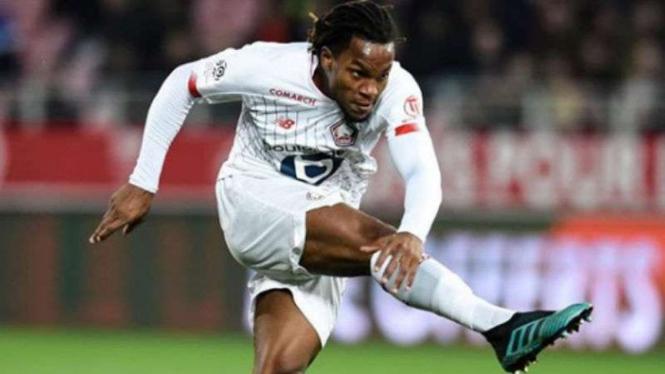 Gelandang Lille, Renato Sanches.