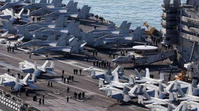 VIVA Militer: Armada militer Amerika Serikat (AS) di Korea Selatan (Korsel)