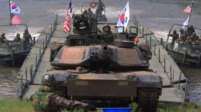 VIVA Militer: Pasukan Amerika Serikat (AS) di Korea Selatan (Korsel)