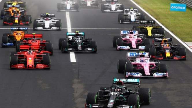 Balapan F1 GP Hungaria