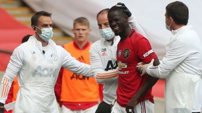 Bek Manchester United, Eric Bailly, cedera