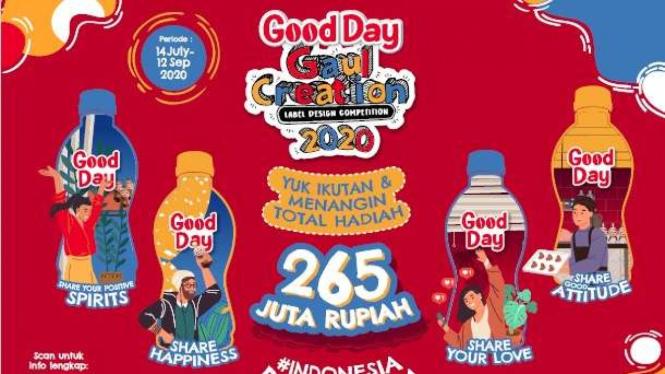 Kompetisi Good Day Gaul Creation 2020.