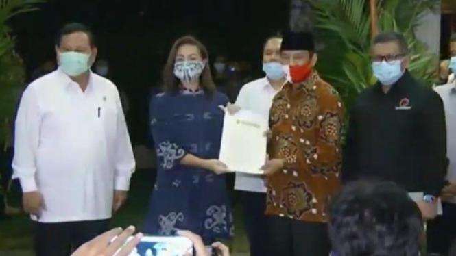 Pasangan Muhammad-Sarah diusung Gerindra, PDIP di Pilkada Tangsel