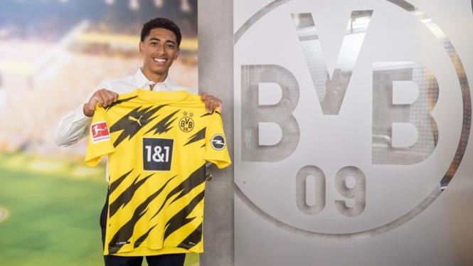 Jude Bellingham resmi jadi pemain Borussia Dortmund