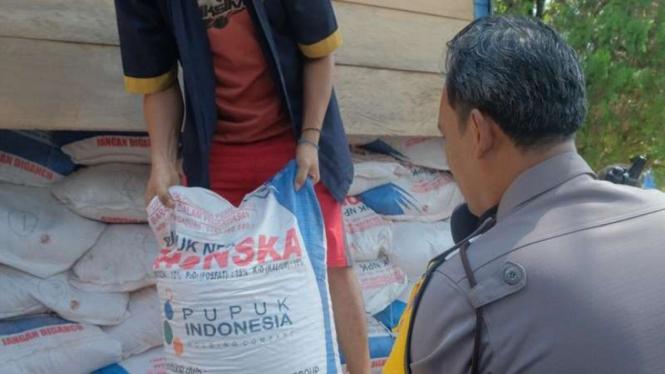 Penyelundupan pupuk bersubdisi di Payakumbuh berhasil digagalkan