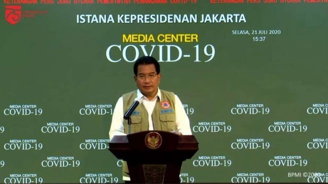 Juru Bicara pemerintah untuk penanganan pandemi COVID-19 Wiku Adisasmito