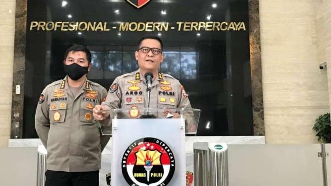Kepala Divisi Humas Polri, Irjen Raden Prabowo Argo Yuwono.