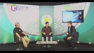 Launching Pelatihan Pro Hijau oleh Lembaga Administrasi Negara (LAN), di Global Green Growth Institute (GGGI) Indonesia dan TV Tempo Channel, Rabu (22/7).