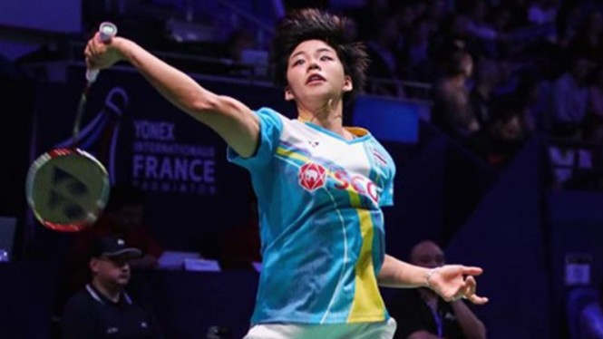 VIVA Bulutangkis: Pemain ganda campuran Thailand, Sapsiree Taerattanachai.