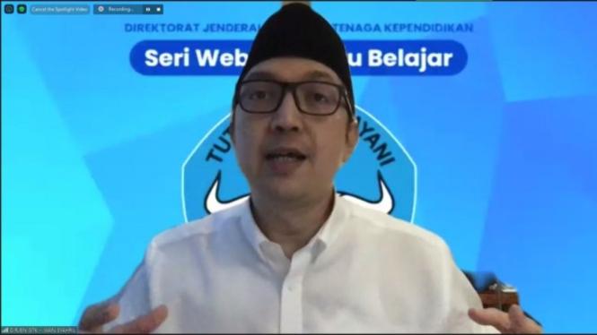 Direktur Jenderal Guru dan Tenaga Kependidikan Kemendikbud, Iwan Syahril