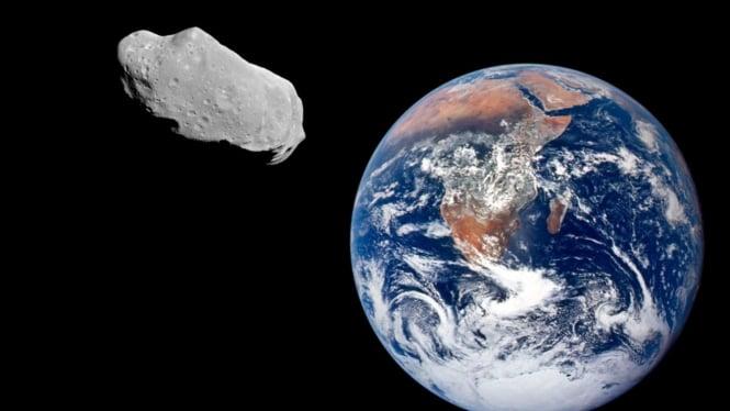 Asteroid dekat Bumi.