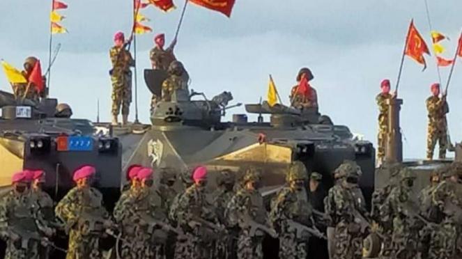 VIVA Militer: KSAL Laksamana TNI Yudo Margono jadi warga kehormatan Marinir.