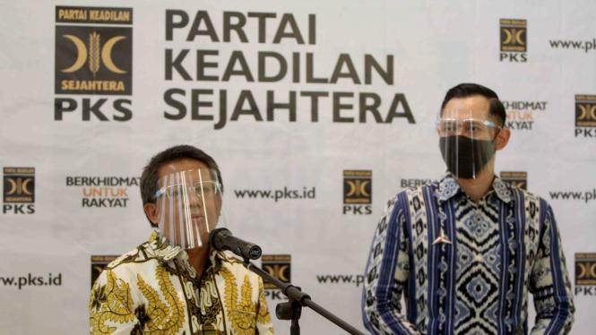 AHY Bertemu Presiden PKS