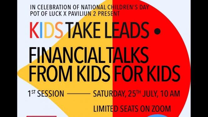 """program """"Kids Take Leads"""" dari Fortuna."""