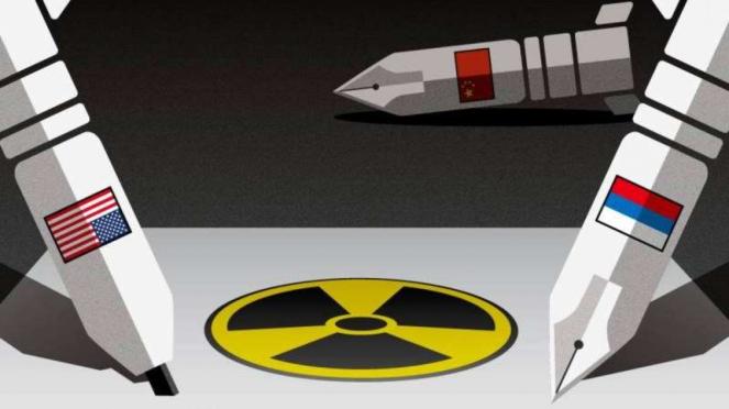 VIVA Militer: Ilustrasi persaingan senjata nuklir antara AS, Rusia, dan China
