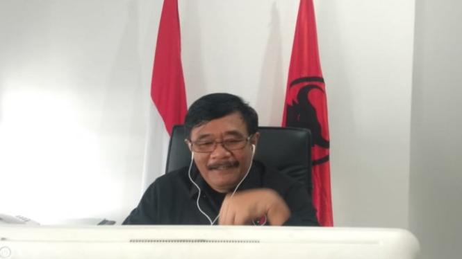 Plt Ketua DPD PDIP Sumut Djarot Saiful Hidayat