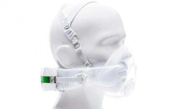 Masker oksigen CleanSpace Halo