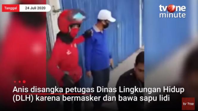 Camat Samarinda Kota Marah-marah Dikira Tukang Sapu Jalanan