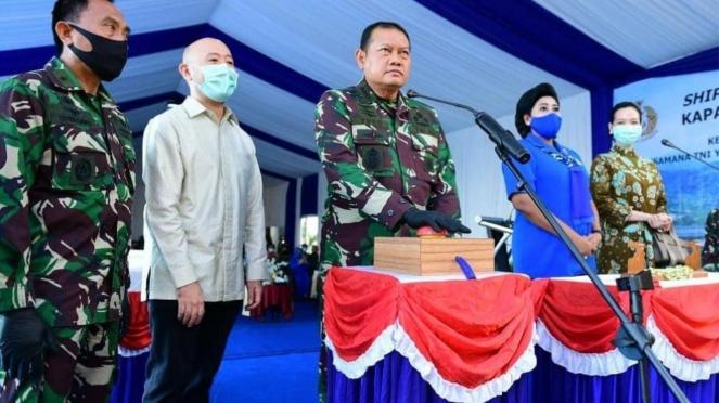 VIVA Militer: KSAL Meresmikan Dua Kapal Perang Baru TNI AL