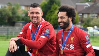 Winger Liverpool, Mohamed Salah, dan Dejan Lovren