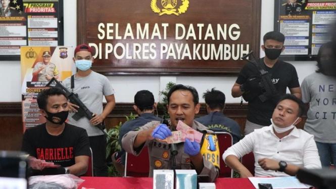 Sindikat peredaran uang palsu ditangkap Polres Payakumbuh