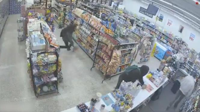 Tangkapan layar aksi pencurian paling unik