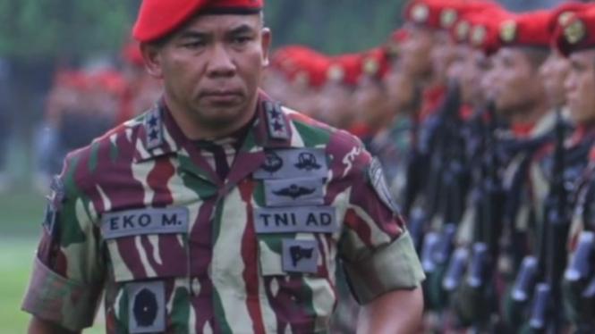 VIVA Militer: Mayjen TNI Eko Margiyono saat menjabat Danjen Kopassus