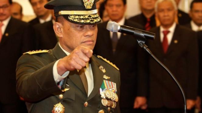 VIVA Militer: Jenderal TNI Gatot Nurmantyo saat masih menjabat Panglima TNI