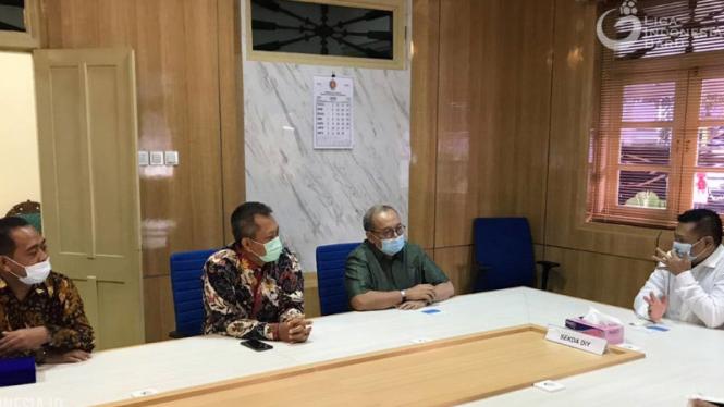 Pertemuan PT LIB dengan Pemprov DIY