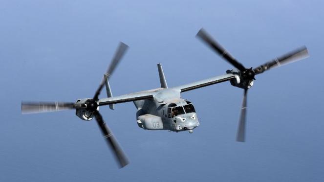 VIVA Militer: Pesawat Bell-Boeing MV-22 Osprey