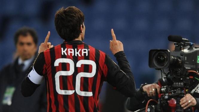 Mantan pemain AC Milan, Ricardo Kaka Izecson dos Santos Leite