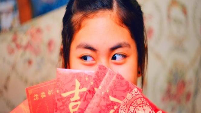 Ilustrasi wanita China.