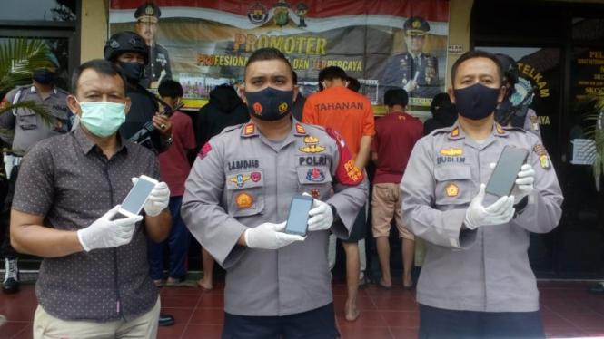 Kapolsek Sukmajaya Depok merilis kasus tawuran pelajar
