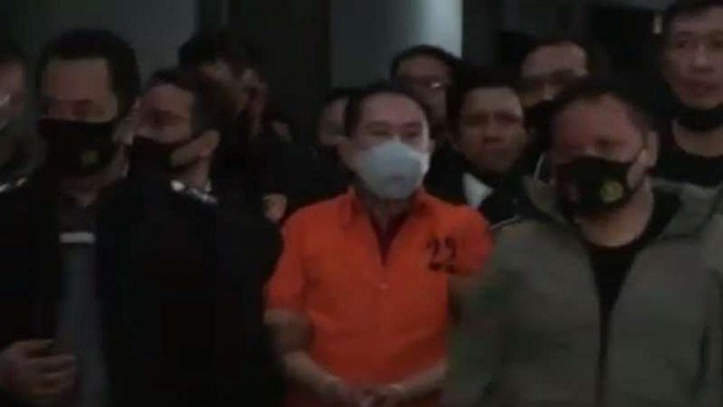 Djoko Tjandra tiba di Bandara Halim, Jakarta, Kamis malam, 30 Juli 2020.