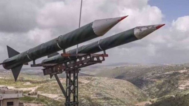VIVA Militer: Roket pasukan Hizbullah Lebanon