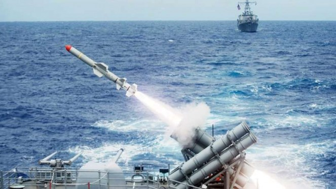 VIVA Militer: Rudal anti-kapal Harpoon Angkatan Laut Amerika Serikat (US Navy)