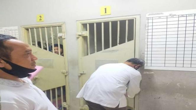Ruang tahanan Djoko Tjandra di Rutan Salemba